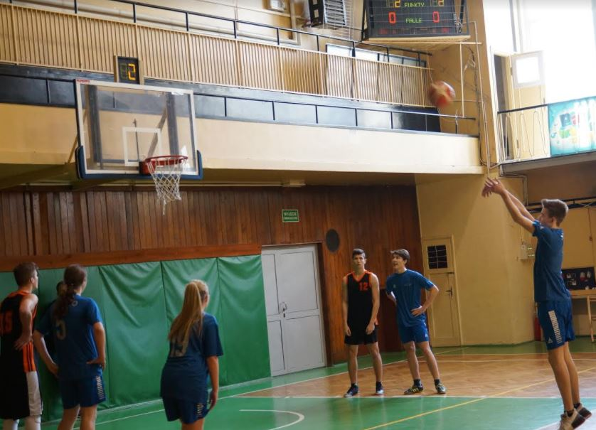 Koszykówka w 43 Liceum w Krakowie