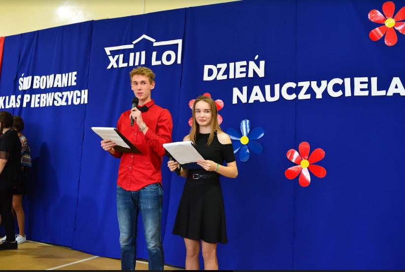 Liceum 43 w Krakowie, Dzień nauczyciela