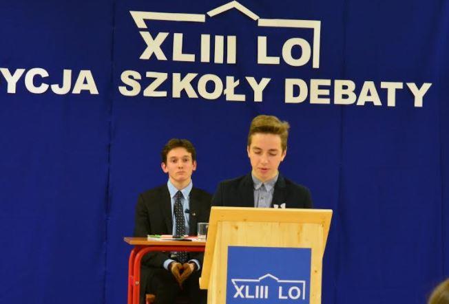 Debaty oksfordzkie od 10 września