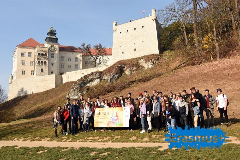 Kraków i okolice z projektem Erasmus+