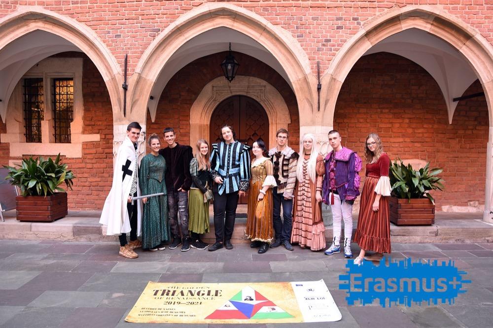 Erasmus+ Dzień z kulturą renesansu